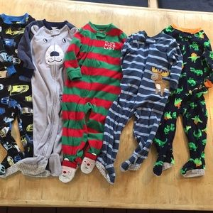 Fleece footie pajamas 18 month